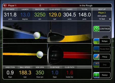 E6 Swing Analysis with Flightscope Technology  You Can Add Distance this off Season E6 A