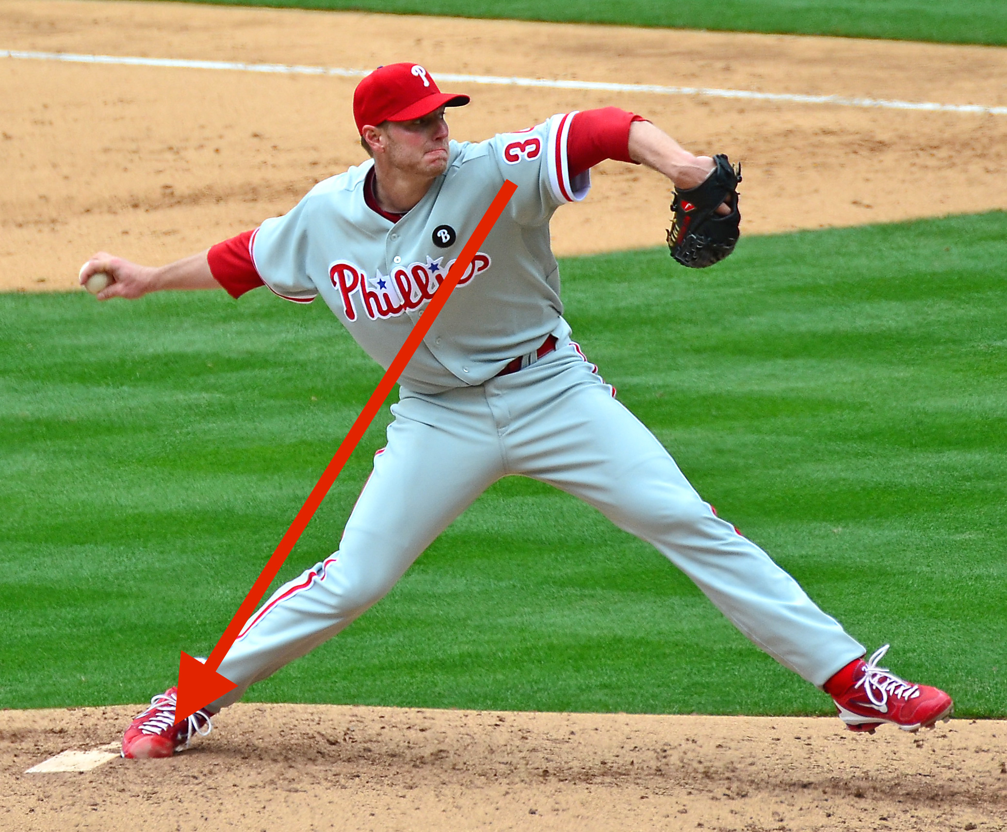 Roy_Halladay  Can Ground Force Give Your Swing More Power? Roy Halladay