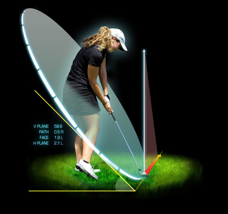 What Technology are top instructors using to teach in golf in 2015 ? DPlane flightscope2