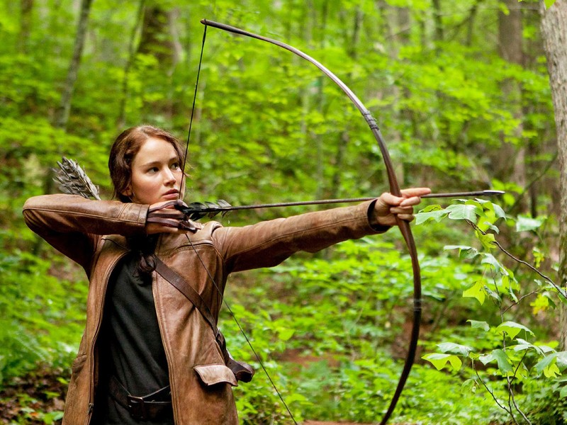 Katniss-Hunger-Games  Is Your Back Swing too Fast? Katniss Hunger Games
