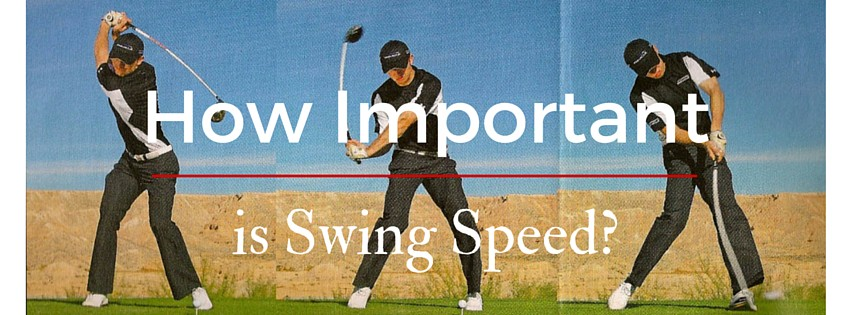 How Important is Swing Speed? How Important is Swing Speed