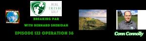Breaking Par with Bernard Sheridan 123 Real Irish Golf Conn Connolly Header 300x86
