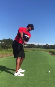 A Look at Tiger's Driver Swing Coming Back IMG 3313 189x300
