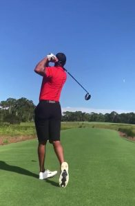 A Look at Tiger's Driver Swing Coming Back IMG 3316 196x300