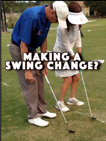 [object object] Want to make a swing change? Swing Change 1