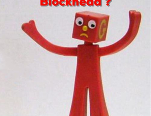 Does Your Golf Game Make You Feel Like A Blockhead?