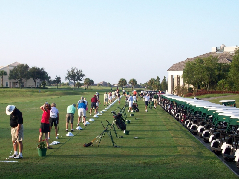 Preparing to Play a Round of Golf